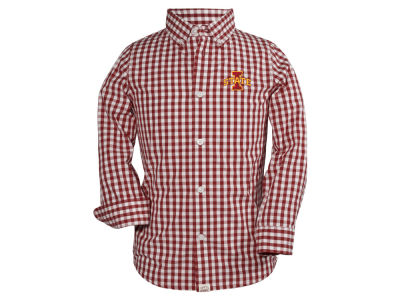 Iowa State Cyclones NCAA Toddler Logan Long Sleeve Button Down Shirt