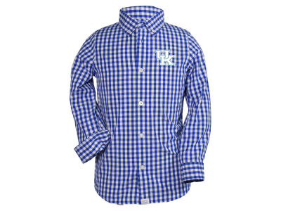 Kentucky Wildcats NCAA Toddler Logan Long Sleeve Button Down Shirt