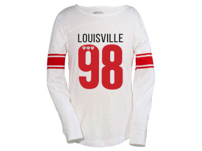 Louisville Cardinals NCAA Youth Girls Tobin Long Sleeve T-Shirt