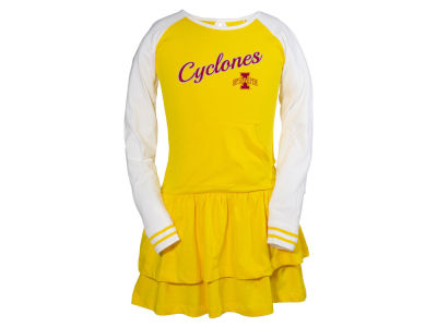 Iowa State Cyclones NCAA Youth Girls Kacey Long Sleeve Dress