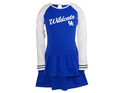 Kentucky Wildcats NCAA Youth Girls Kacey Long Sleeve Dress