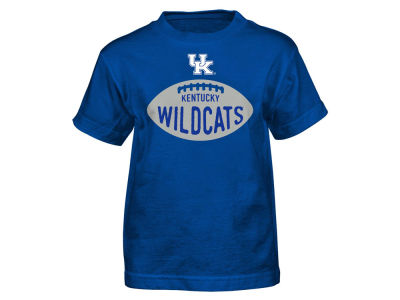 Kentucky Wildcats Outerstuff NCAA Kids Embossed Football T-Shirt