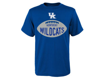 Kentucky Wildcats Outerstuff NCAA Youth Embossed Football T-Shirt