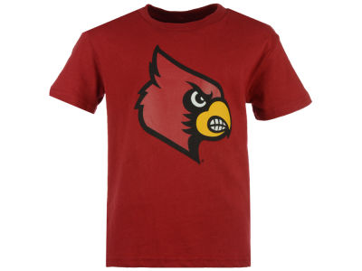 Louisville Cardinals NCAA Youth Wordplay Logo Fill T-Shirt
