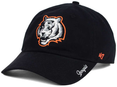 Cincinnati Bengals '47 NFL '47 Womens Sparkle Team Color Cap