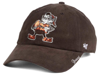 Cleveland Browns '47 NFL '47 Womens Sparkle Team Color Cap