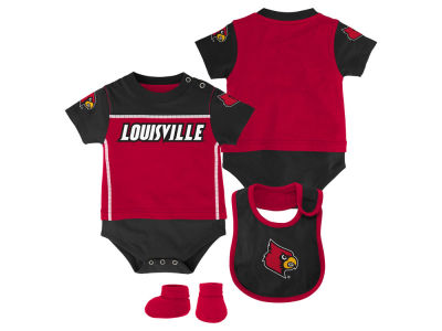 Louisville Cardinals NCAA Newborn Lil Jersey Set