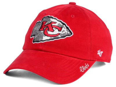 Kansas City Chiefs '47 NFL '47 Womens Sparkle Team Color Cap