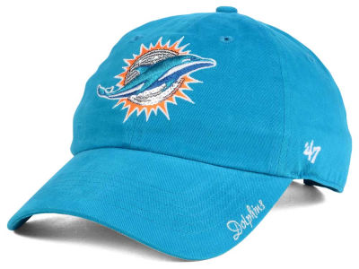 Miami Dolphins '47 NFL '47 Womens Sparkle Team Color Cap