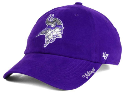 Minnesota Vikings '47 NFL '47 Womens Sparkle Team Color Cap