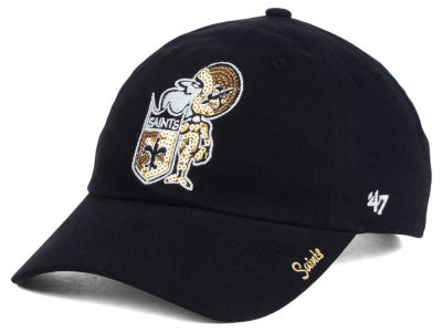 New Orleans Saints '47 NFL '47 Womens Sparkle Team Color Cap