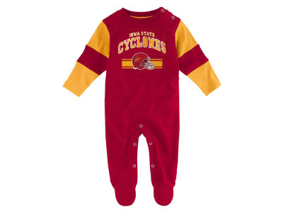 Iowa State Cyclones Outerstuff NCAA Newborn Team Believer Long Sleeve Coverall