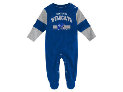 Kentucky Wildcats Outerstuff NCAA Newborn Team Believer Long Sleeve Coverall