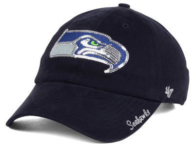 Seattle Seahawks '47 NFL '47 Womens Sparkle Team Color Cap