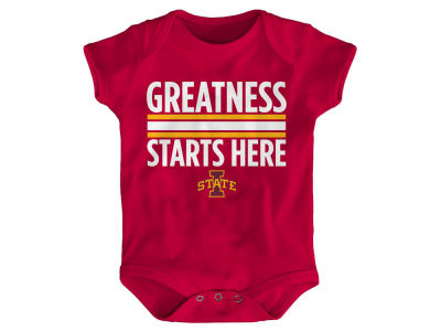 Iowa State Cyclones Outerstuff NCAA Newborn Greatness Starts Here Creeper