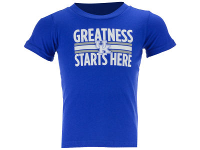 Kentucky Wildcats Outerstuff NCAA Infant Greatness Starts Here T-Shirt