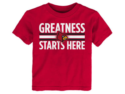 Louisville Cardinals NCAA Infant Greatness Starts Here T-Shirt