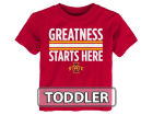 Iowa State Cyclones Outerstuff NCAA Toddler Greatness Starts Here T-Shirt T-Shirts
