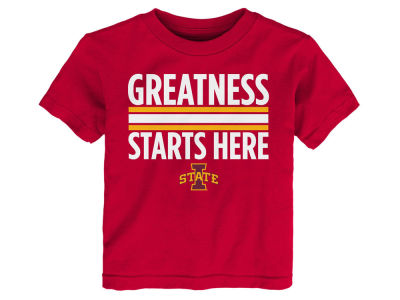Iowa State Cyclones Outerstuff NCAA Toddler Greatness Starts Here T-Shirt
