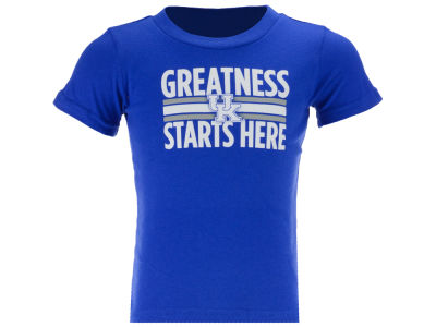 Kentucky Wildcats Outerstuff NCAA Toddler Greatness Starts Here T-Shirt