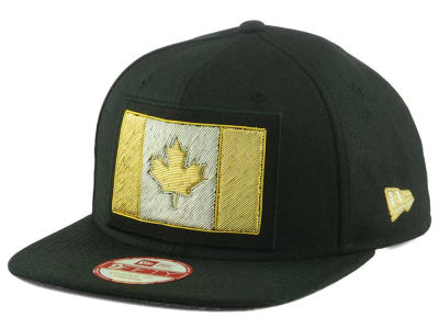 Canada Canada Flag Beaded Strap 9FIFTY Strapback Cap