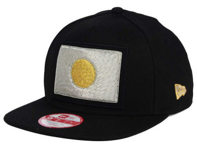 Japan New Era Flag Beaded Strap 9FIFTY Strapback Cap