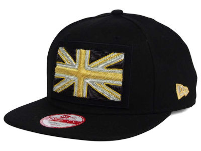 United Kingdom New Era Flag Beaded Strap 9FIFTY Strapback Cap