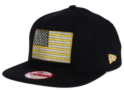 United States of America Flag Beaded Strap 9FIFTY Strapback Cap