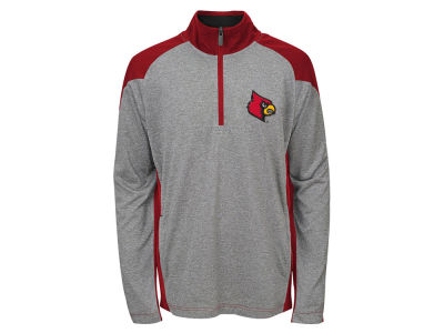 Louisville Cardinals NCAA Youth DNA Quarter Zip Pullover
