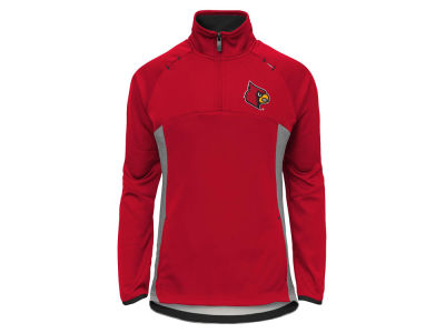 Louisville Cardinals NCAA Youth Girls Extreme Quarter Zip Pullover