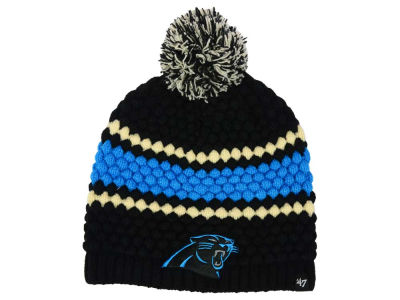 Carolina Panthers '47 NFL Women's Leslie Pom Knit