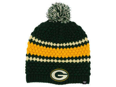Green Bay Packers '47 NFL Women's Leslie Pom Knit