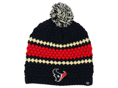 Houston Texans '47 NFL Women's Leslie Pom Knit