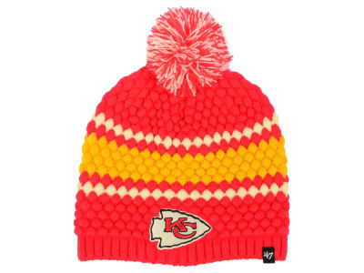 Kansas City Chiefs '47 NFL Women's Leslie Pom Knit