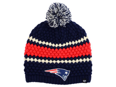 New England Patriots '47 NFL Women's Leslie Pom Knit