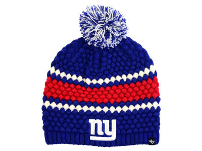 New York Giants '47 NFL Women's Leslie Pom Knit