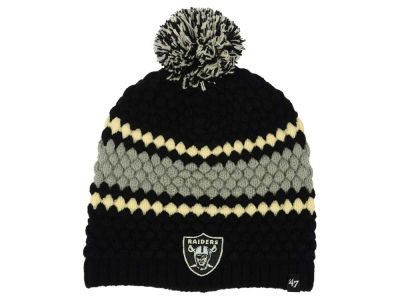 Oakland Raiders '47 NFL Women's Leslie Pom Knit