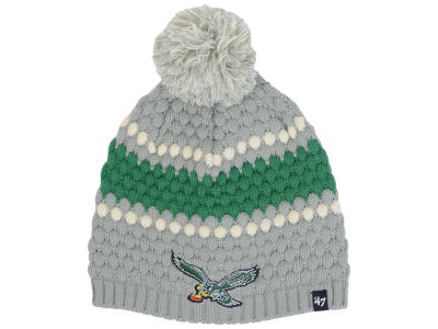 Philadelphia Eagles '47 NFL Women's Leslie Pom Knit