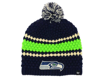 Seattle Seahawks '47 NFL Women's Leslie Pom Knit
