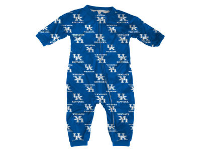 Kentucky Wildcats Outerstuff NCAA Toddler All-Over Logo Raglan Full Zip Coverall