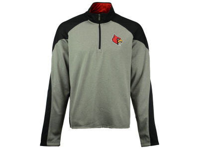 Louisville Cardinals NCAA Men's Helix Zip Pullover Jacket