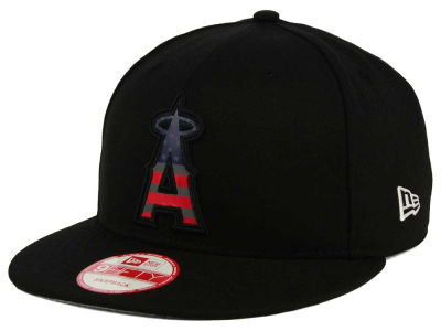 Los Angeles Angels New Era MLB America Team Logo 9FIFTY Snapback Cap