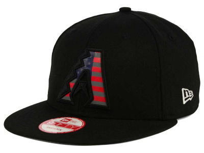 Arizona Diamondbacks New Era MLB America Team Logo 9FIFTY Snapback Cap