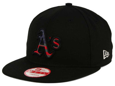Oakland Athletics New Era MLB America Team Logo 9FIFTY Snapback Cap