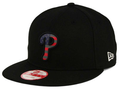 Philadelphia Phillies New Era MLB America Team Logo 9FIFTY Snapback Cap