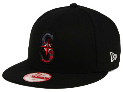 Seattle Mariners New Era MLB America Team Logo 9FIFTY Snapback Cap