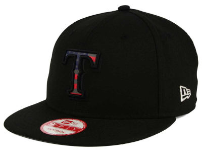 Texas Rangers New Era MLB America Team Logo 9FIFTY Snapback Cap
