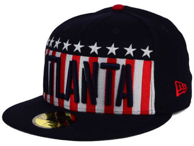 Atlanta Braves New Era MLB Big USA 59FIFTY Cap