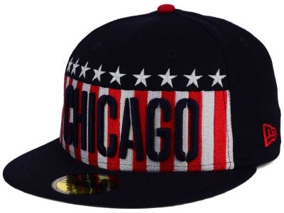 Chicago White Sox New Era MLB Big USA 59FIFTY Cap