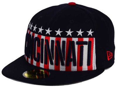 Cincinnati Reds New Era MLB Big USA 59FIFTY Cap